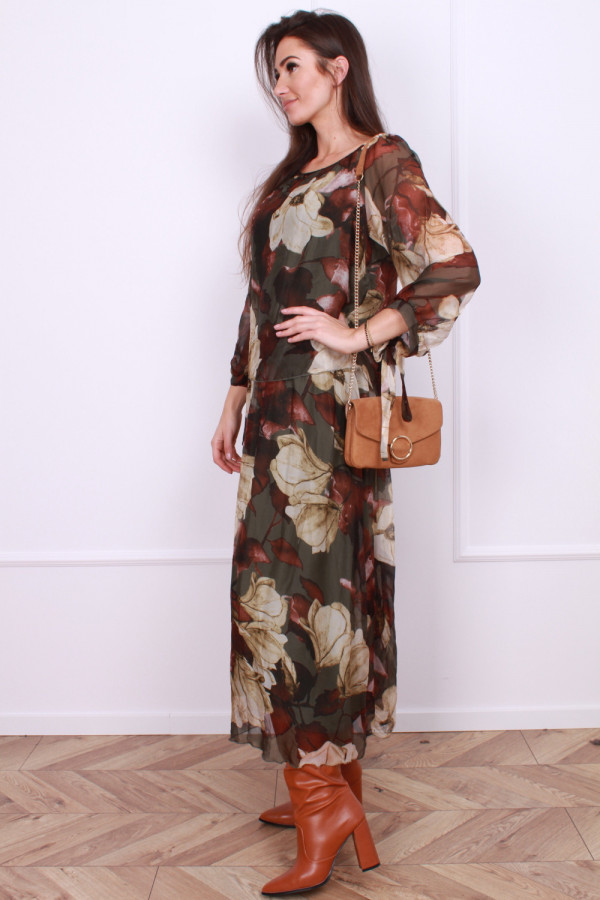Długa sukienka Delicate 1