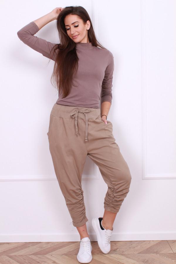 Spodnie dresowe luźne