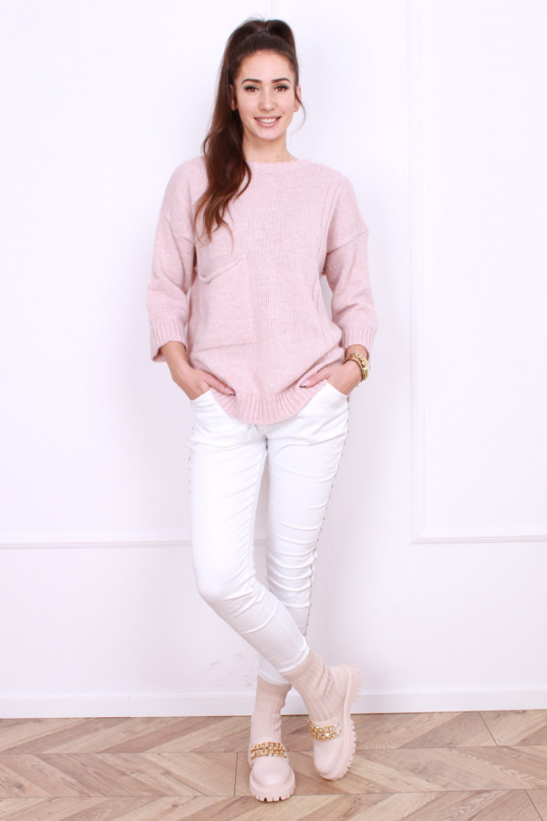 Sweter z kieszenią