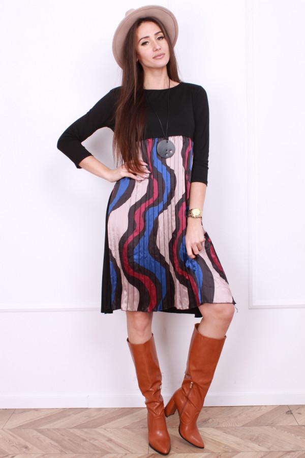 Sukienka plisowana z przodu 4