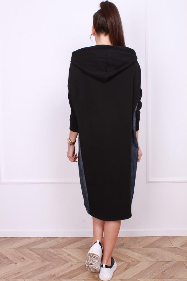 Sportowa sukienka Black 2