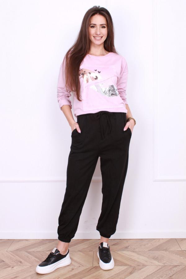 Spodnie dresowe ze sznurkiem