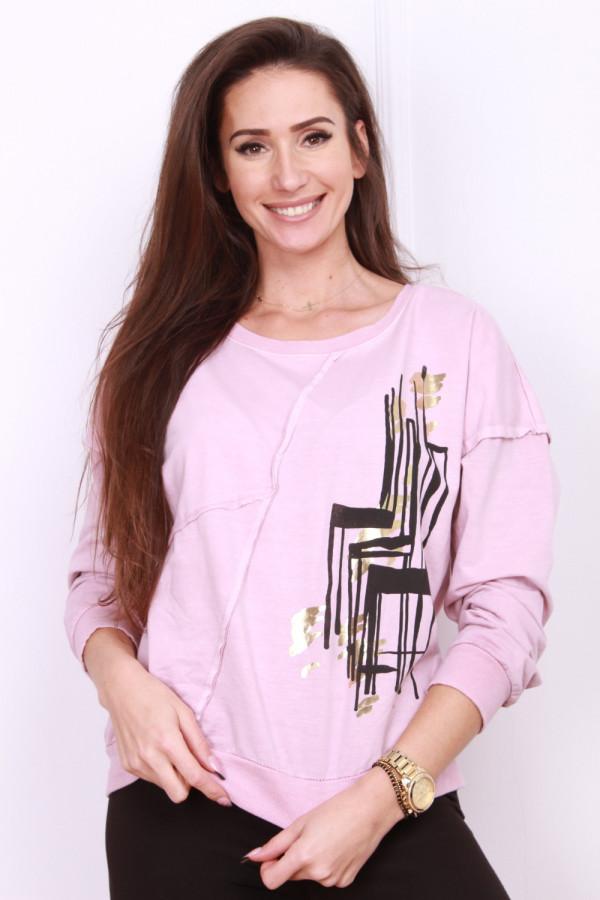 Bluza z printem 7