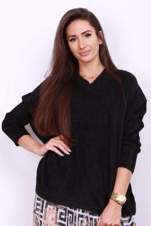 Sweter szeroki pluszowy 3