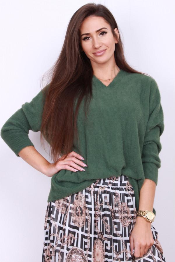 Sweter szeroki pluszowy 6