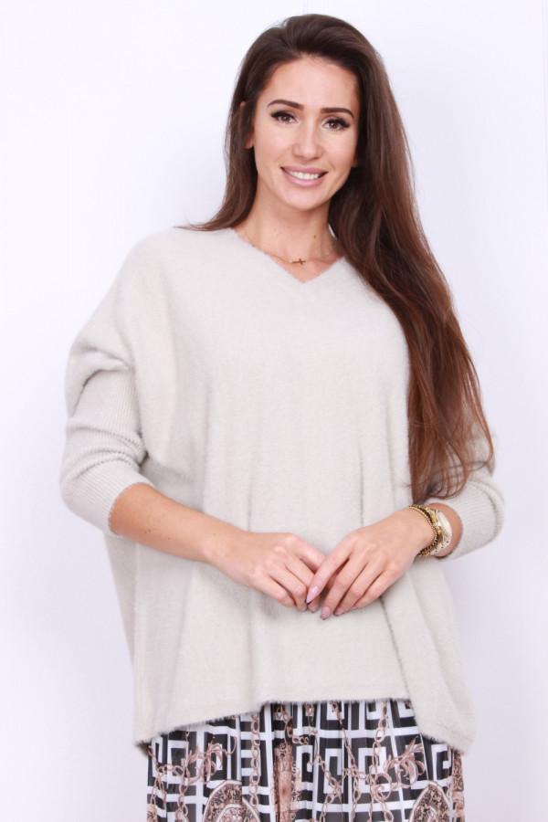 Sweter szeroki pluszowy 5