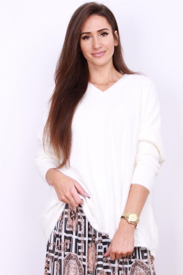 Sweter szeroki pluszowy 7
