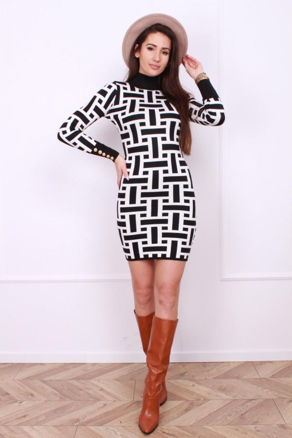 Sukienka Geometric 3