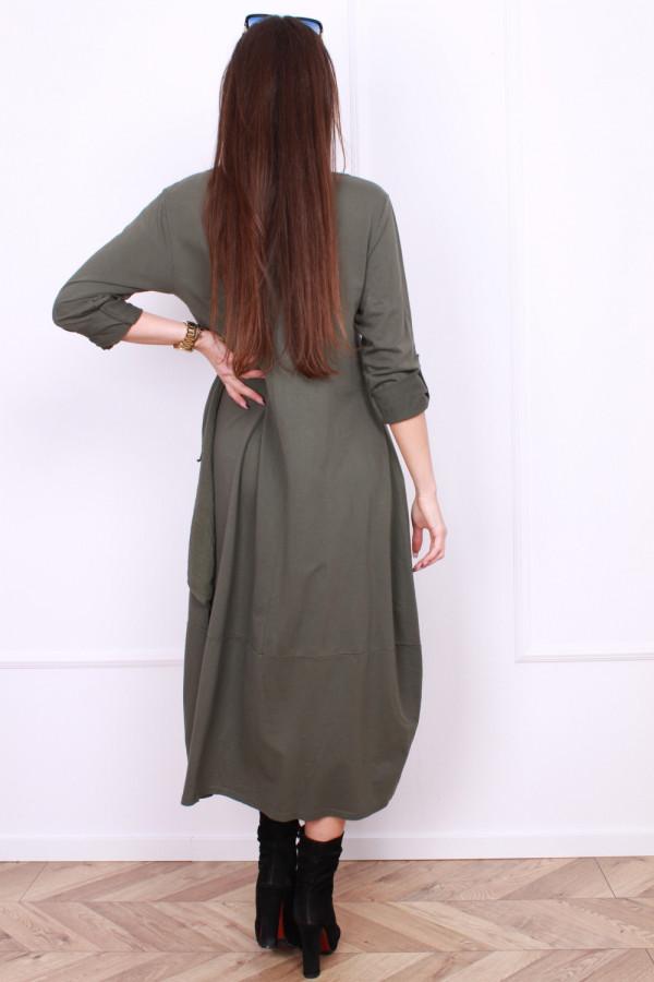 Sukienka bawełniana z kieszeniami 2