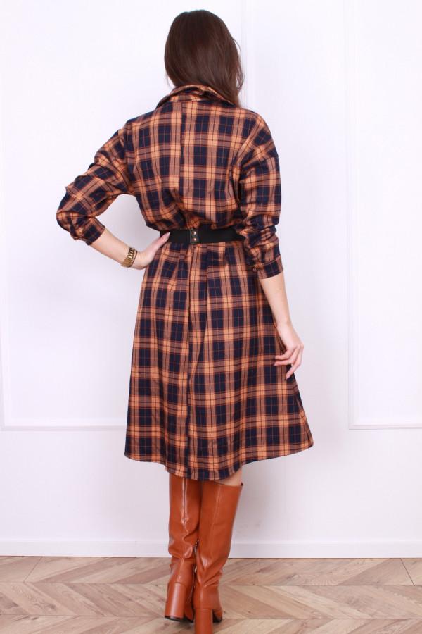 Sukienka w szkocką kratę 2