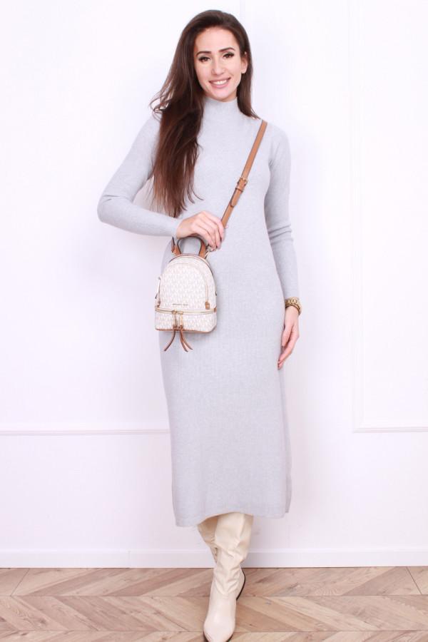 Sukienka maxi gładka