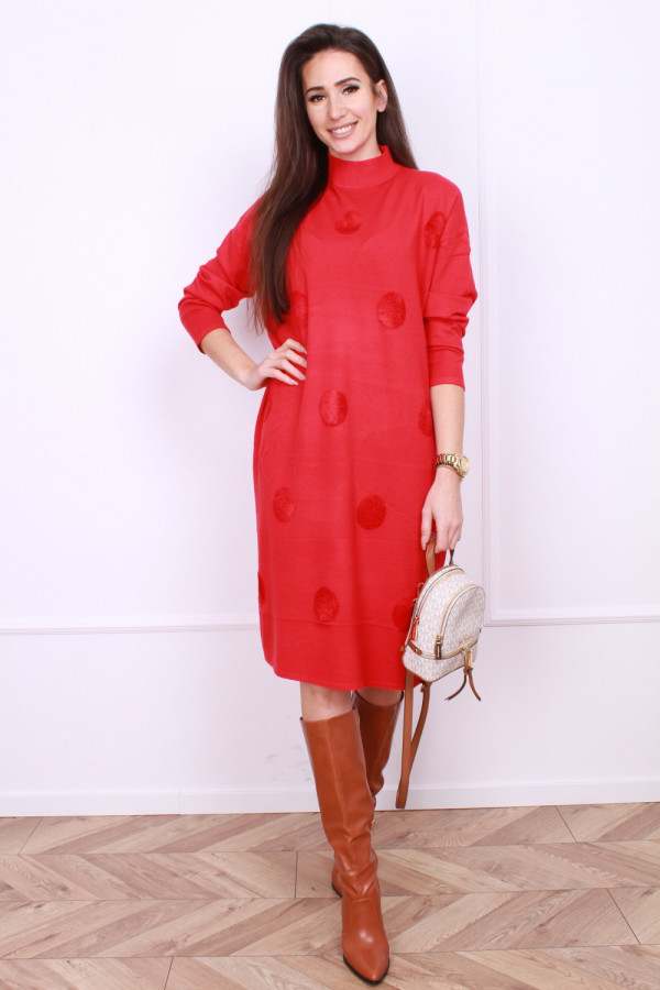 Sukienka dzianinowa oversize